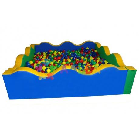 Сухие басейны квадратные