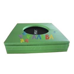 Детский каркасный батут АЛ 407