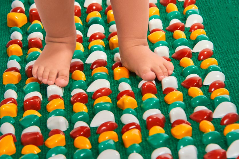 Масажний килимок своїми руками